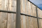 Acland Lap and cap timber fencing 2