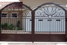 Acland Wrought iron fencing 2